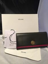 New With Tags! Celine Large Flap Multifunction Coin Palmelato Wallet
