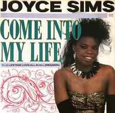 """JOYCE SIMS - Come Into My Life (12"""") (VG/VG)"""