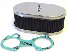 WEBER/DELLORTO DCOE/DHLA TWIN 38/40/42/45/48 CARBS – AIR FILTER 63MM DEEP