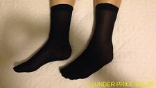 Holidays Travel Light With Our Disposable Mens Black Dress Socks GHDS-02 AUS N2