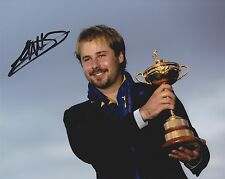Victor Dubuisson Signed 8x10 Ryder Cup Photograph AFTAL/UACC RD