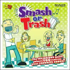 SMASH OR TRASH - REWRITE YOUR FAVORITE SONGS LYRICS FAMILY PART GAME FUN Q GAMES