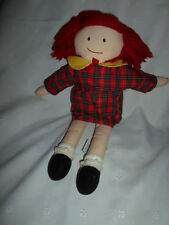 """Madeline Eden Storybook Character 16""""  Plush Soft Toy Stuffed Animal"""