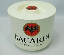 Bacardi Rum Ice Bucket Cooler Cocktails Party Man Cave Pub Bar Collectable