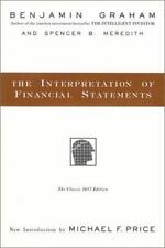 The Interpretation of Financial Statements 1937 by Benjamin Graham and Spencer …