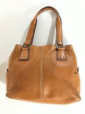 Fossil Purse Leather Bag Light Brown #75082 Natural Color