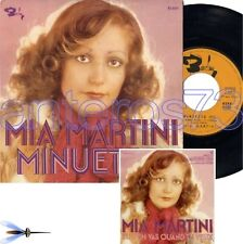"MIA MARTINI ""MINUETTO"" RARO 45giri IN FRANCESE"