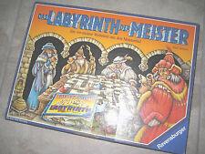 RARE Vintage 1991 Ravensburger Das Labyrinth der Meister German Board Game USED
