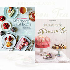 Eric Lanlards Afternoon Tea & Afternoon Tea at Home Collection 2 Books Set ,New