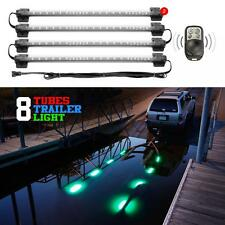 8pc Boat Trailer Loading Light Waterproof Multi Color + Pattern Remote Control