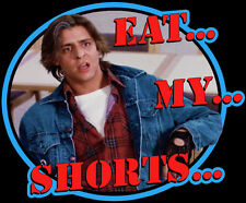 "80's Classic The Breakfast Club Bender ""Eat...My...Shorts..."" custom tee AnySize"