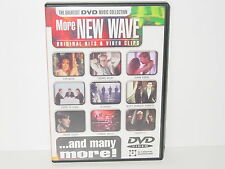 """***DVD-VARIOUS ARTISTS""""MORE NEW WAVE-Original Hits & Video Clips""""-2002 Disky***"""