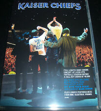 Kaiser Chiefs Live At Elland Road Homecoming Tour (All Region) DVD - Like New
