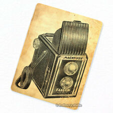 Twin Lens Reflex Camera #2 Deco Magnet, Decorative Fridge Photography Gift Decor