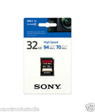 Sony 32GB SDHC UHS-I  Memory Card - 94 MB/s SF-32UX with 5 yrs warranty