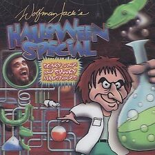 Wolfman Jack's HALLOWEEN SPECIAL Sound effects CD **NEW** 2007 3d COVER!