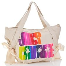 JUICY COUTURE RAINBOW PALM CANVAS BOW TOTE BAG £85!
