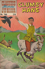 Classics Illustrated Junior #566 Clumsy Hans - HRN #576, Very Fine Condition.