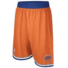New York Knicks Adidas Orange Swingman Performance Shorts L Oakley Porzingis NBA