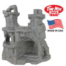 TimMee Processed Plastic Battle Mountain: Tim Mee Army Men Cliffs Caves Display