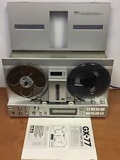 1980's Akai GX-77 Reel-to-Reel Tape Recorder/Player -Dual Direction Auto Reverse
