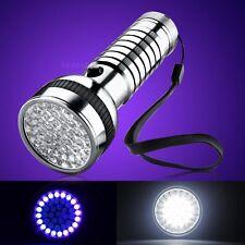 41 LED Lampen UV Helligkeit 395 ~ 400nm 2 Modi Taschenlampe Licht Lampe groß