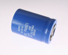 1x 12000uF 75V Large Can Electrolytic Aluminum Capacitor DC 75VDC 12,000uf 95C