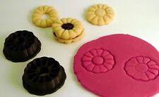 Jammie Dodger - Cookie Cutter -3D Printed Plastic