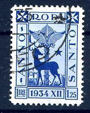 EGEO 1935 - ANNO SANTO  LIRE  1,25  USATO