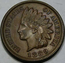 1889 Indian Head Cent Choice Uncirculated Ms+ Brown. 100% Original and so Nice