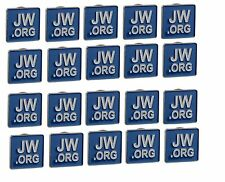 JW.ORG LAPEL PINS TIE PINS LOT OF 20 LAPEL BADGES METAL TIE PINS