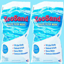Zeosand Alternative Sand Media For Swimming Pool Sand Filter (2 x 25 lb Bag