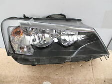 BMW X3 F25 HALOGEN HEADLIGHT 63127217288  LHD CONTINENTAL