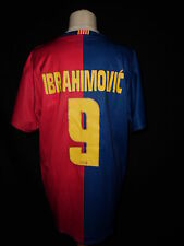 maillot de football vintage FC BARCLONE Barça IBRAHIMOVIC Taille 12 ans