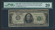 1928 $500 Five Hundred Dollar Bill Redeemable In Gold Note PMG VERY FINE 20