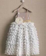 Chasing Fireflies Girls Cascading Tulle Dress Size 12