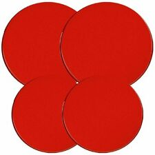 Reston Lloyd Electric Stove Burner Covers, Set of 4, Red, New, Free Shipping