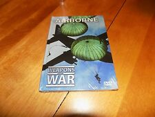 WEAPONS OF WAR AIRBORNE Parachute Infantry Gliders WWII Modern Military DVD NEW