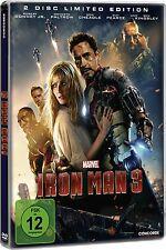 IRON MAN 3 (Robert Downey Jr.) 2 DVDs, Steelbook NEU+OVP Limited Edition