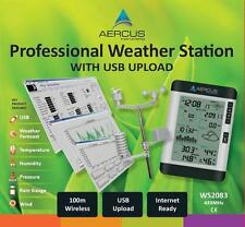 Weather Station Wireless USB Upload - FREE 30 Page Beginners Guide eBook