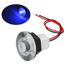 wasserdicht 12V 38mm Blue LED Light Boat Marine RV Courtesy Livewell Submersible
