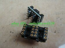 2x DIP to DIP Dual to Mono Opamp PCB Adapter for OPA627 AD797
