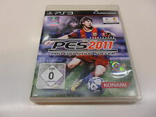 PlayStation 3 PS 3  PES 2011 - Pro Evolution Soccer