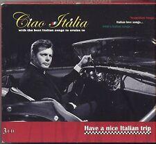 Ciao Italia - TAIOLI DI STEFANO CAROSONE MUROLO CARUSO - 3 CD 2008 NEAR MINT