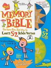 The Memory Bible: The Sure-Fire Way to Learn 52 Bible Verses, , Good Book