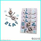 Make Your Own Olaf - Frozen Stickers x 10 Birthday Party Supplies Favours Favors