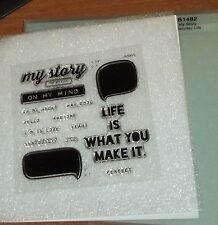 CTMH B1482 MY STORY ~ LIFE IS WHAY MAKE IT, On My Mind, I'm in Love, Seriously?