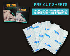 "ULTRADERM Tattoo Bandage 5-Sheets (8"" x 10"") Skin Healing Aftercare Protects"