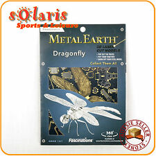 Fascinations Metal Earth Dragonfly 3D Laser Cut Miniature Steel Insect Model