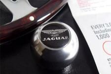 Polished Aluminium Ball / Round Gear Knob with Jaguar 'Wings' Badge